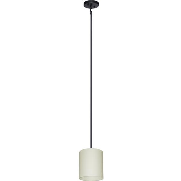 Whitfield Lighting Modena Pendant Light - 1 Light - 8-in - Soft Cream Finish