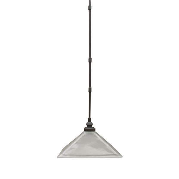 Whitfield Lighting 1-Light Pendant Light - 11-in x 13-in - Oil Rubbed Bronze