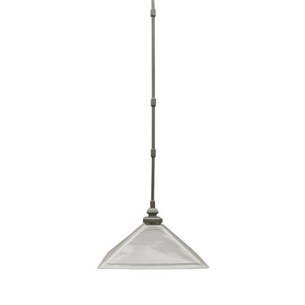 Whitfield Lighting 1-Light Pendant Light - 11-in x 13-in - Nickel