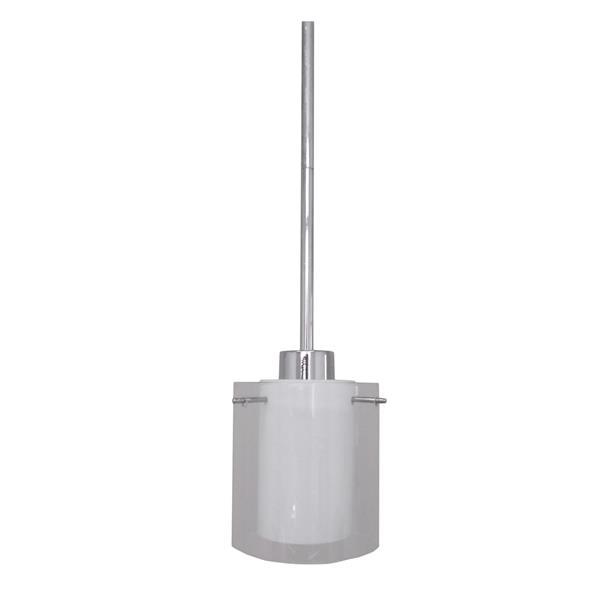 Whitfield Lighting 1-Light Pendant Light - 8-in x 5-in - Chrome