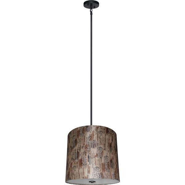 Whitfield Lighting 5-Light Chandelier with Shade - 20-in x 22-in - Brown