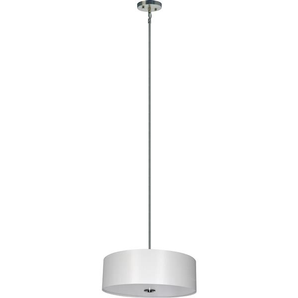 Whitfield Lighting 4-Light Chandelier with Shade - 7-in x 22-in - White