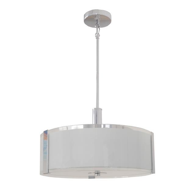 Whitfield Lighting Catherine 3-Light LED Chandelier - 10-in x 16-in - Chrome