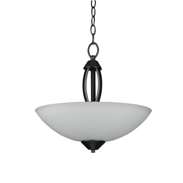Whitfield Lighting Anna 3-Light Chandelier - 14.75-in x 16-in - Grey