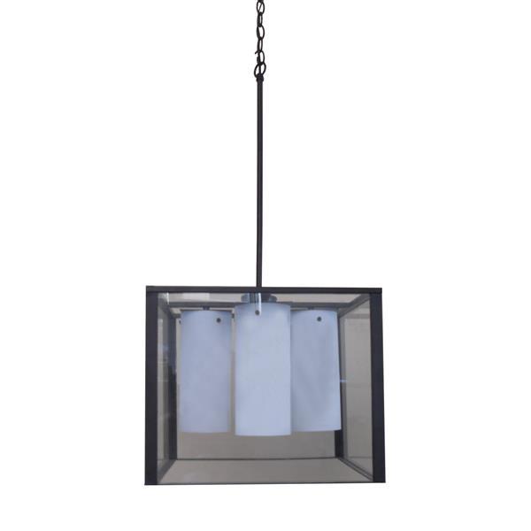 Whitfield Lighting Chandelier - 4 Lights - 13-in - Black