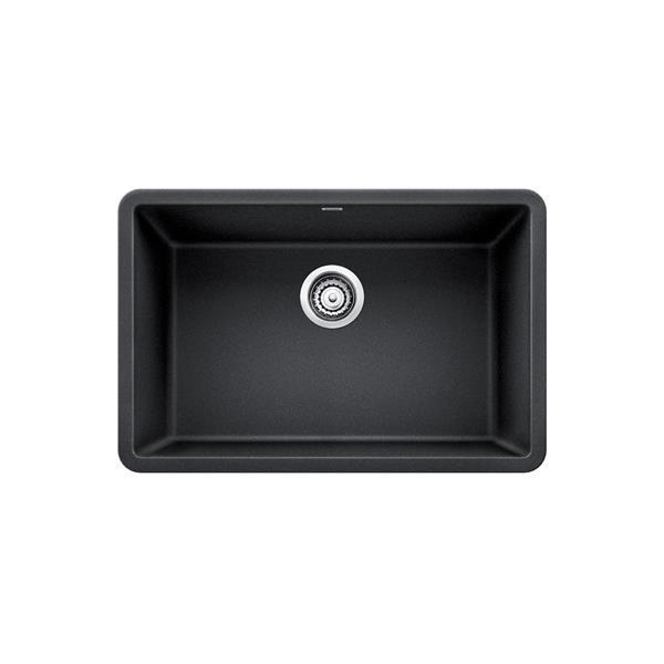 Blanco Precis Single Undermount Sink - Black