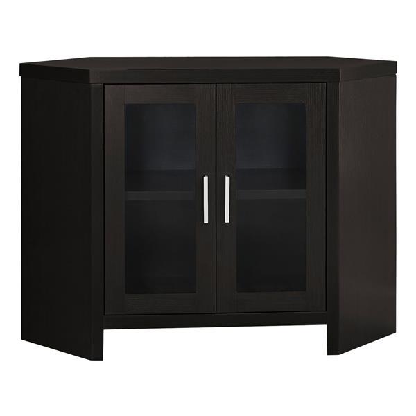 Monarch TV Stand - 42-in x 30-in - Composite - Cappuccino