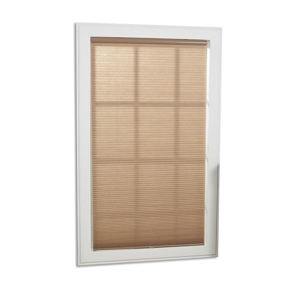"allen + roth Light Filtering Cellular Shade - 65"" X 72"" - White"