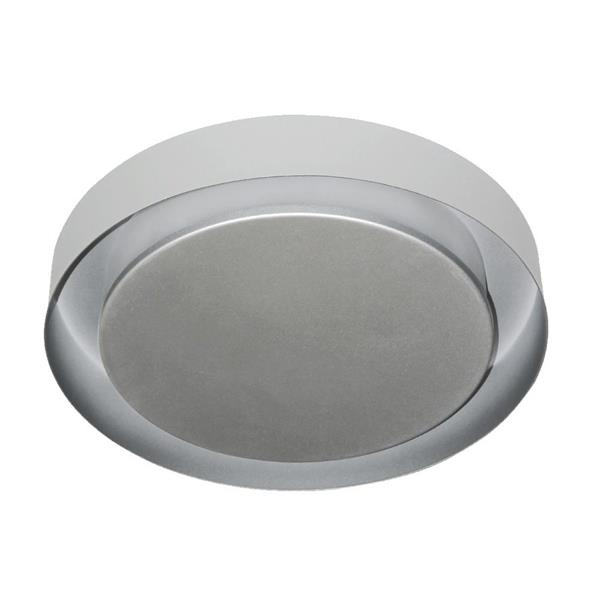 Vonn Lighting Talitha LED Flush Mount - Satin Nickel - 16-in