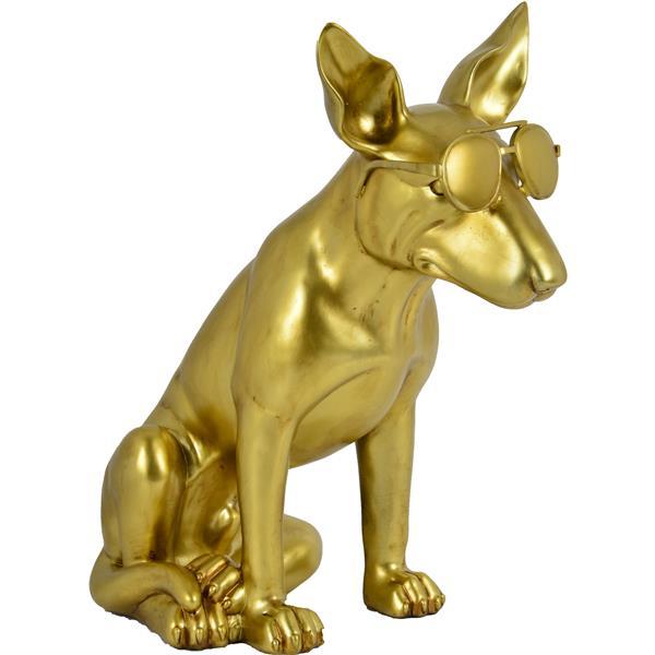 Notre Dame Design Otis Decorative Statue  - Gold