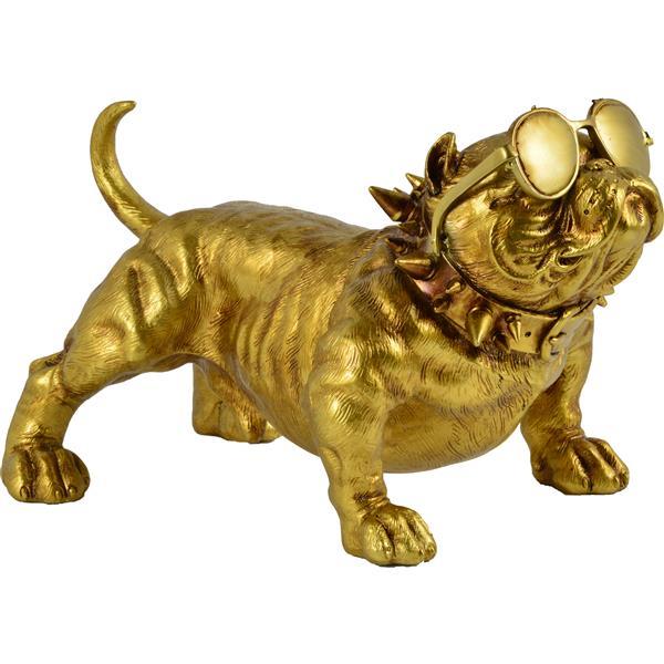 Notre Dame Design Bailey Decorative Statue - Gold
