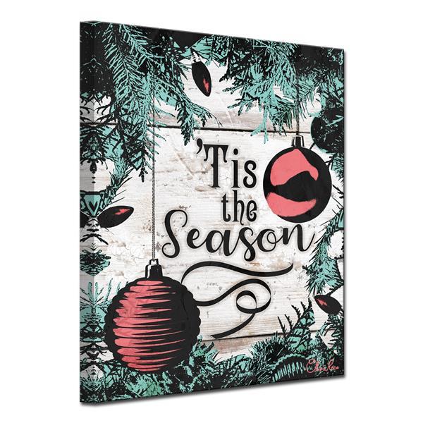 Ready2HangArt Christmas Tis the Season Canvas Wall Art - 30-in x 40-in