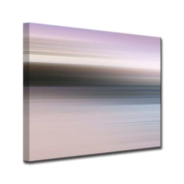 Ready2HangArt Blur Stripes Canvas Wall Décor - 40-in - Purple