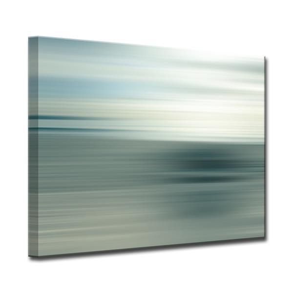 Ready2HangArt Blur Stripes Canvas Wall Décor - 40-in - Gray
