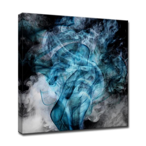 Ready2HangArt Glitzy Mist Canvas Wall Décor - 30-in - Blue