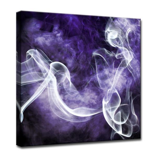 Ready2HangArt Glitzy Mist Canvas Wall Décor - 30-in - Purple