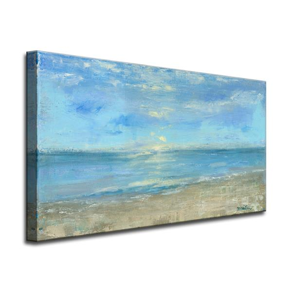 Ready2HangArt Morning View Canvas Wall Décor - 40-in - Blue