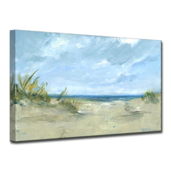 Ready2HangArt Sandy Shores Canvas Wall Décor - 40-in - Blue