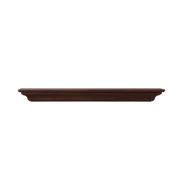 Pearl Mantels Crestwood Mantel Shelf - 60-in - MDF - Brown