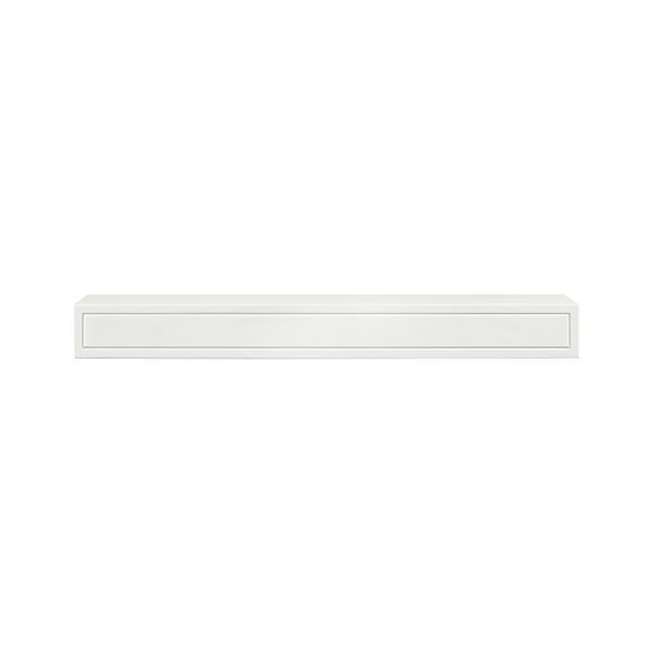 Pearl Mantels Sarah Mantel Shelf - 72-in - MDF - White