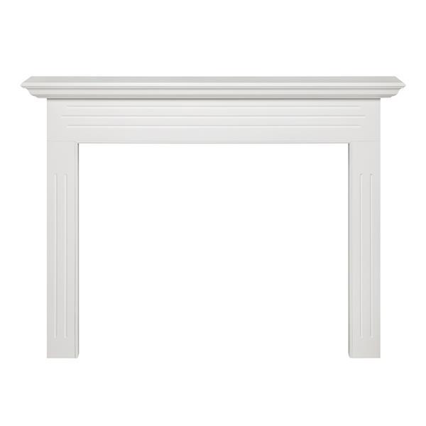 Pearl Mantels Newport Mantel Shelf - 65-in - MDF - White