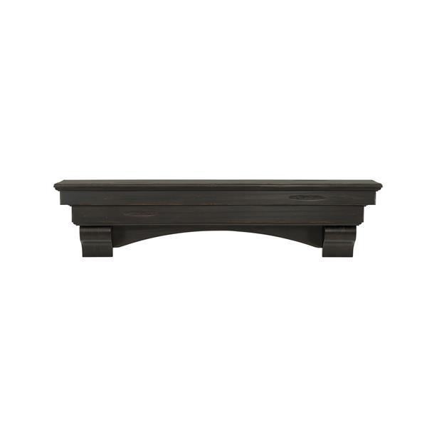 Pearl Mantels Celeste Mantel Shelf - 48-in - Wood - Brown
