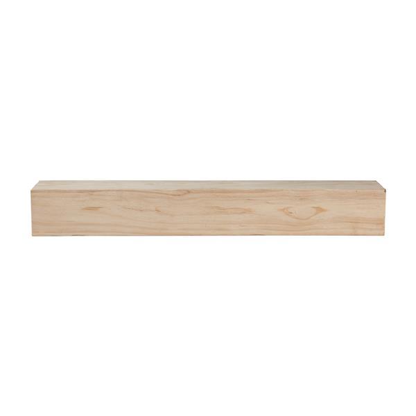 Pearl Mantels Lexington Mantel Shelf - 60-in - Wood - Natural