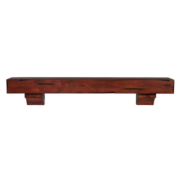 Pearl Mantels Shenandoah Mantel Shelf - 72-in - Wood - Cherry