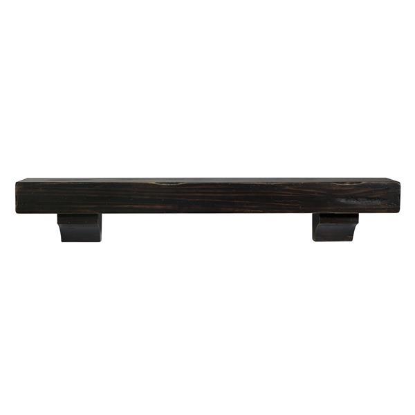Pearl Mantels Shenandoah Mantel Shelf - 48-in - Wood - Espresso