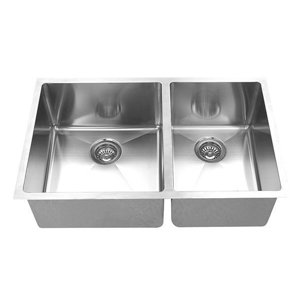 """BOANN Undermount Kitchen Sink - 30"""" x 19"""" - Stainless Steel"""