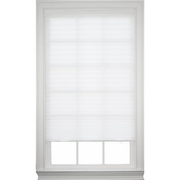"""allen + roth Temporary Shade-48"""" x 72"""" - White - 4/Pack"""