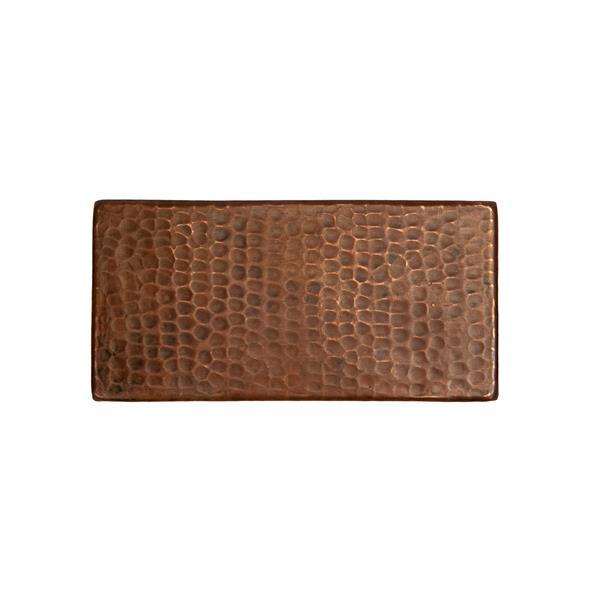 Premier Copper Products Copper Tiles - 3-in x 6-in - 4 PK