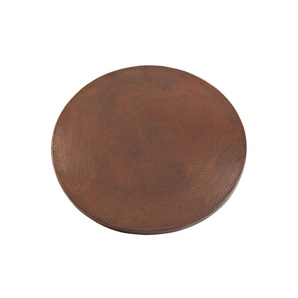 Premier Copper Products Round Copper Table Top - 30-in