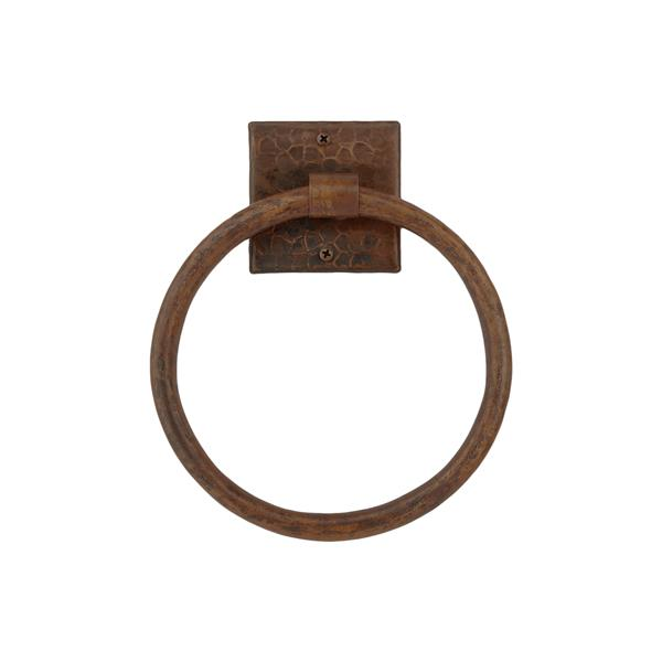 Premier Copper Products Copper Towel Ring - 10-in