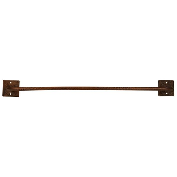 Premier Copper Products Copper Towel Bar - 30-in