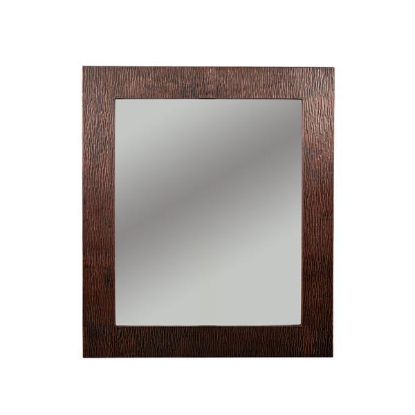 Premier Copper Products Rectangle Copper Mirror - 36-in