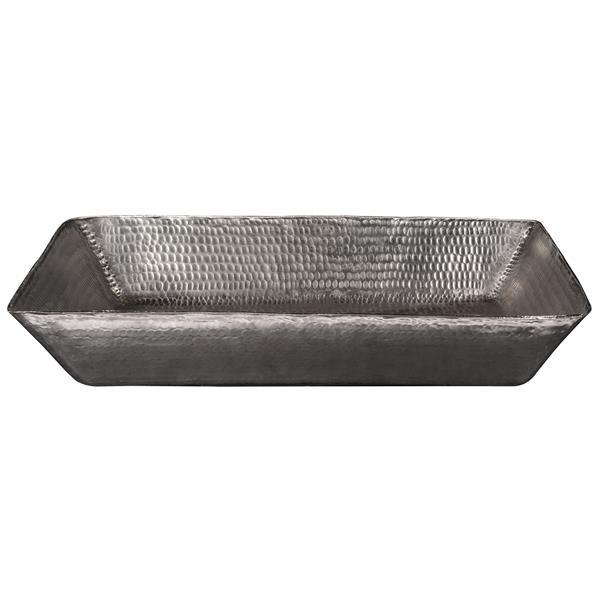 Premier Copper Products Rectangular Sink - 20-in - Nickel