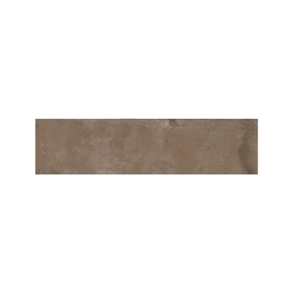 "Ceratec Struttura Bricklane Wall Tiles - 2"" x 10"" - Porcelain - Brown - 34 pcs"