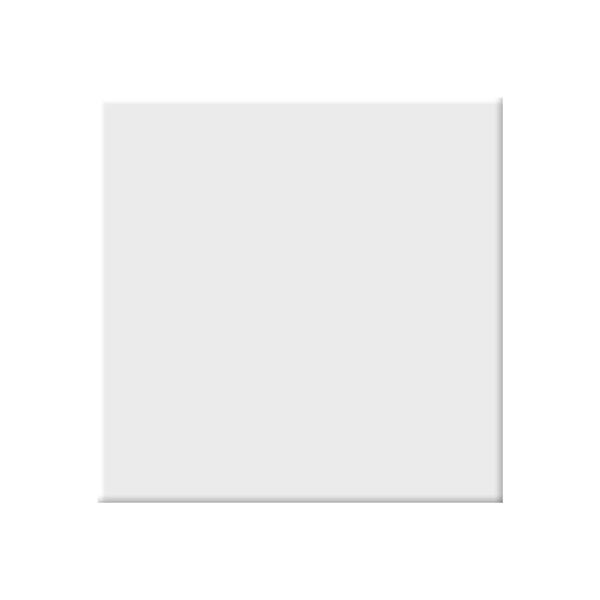 "Ceratec Geotiles Vendome Wall Tiles - 9"" x 9"" - Porcelain - White - 20 pcs"