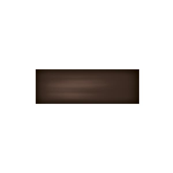 """Ceratec Iris Slide Floor Subway Tile - 4"""" x 12"""" - Ceramic - Brown - 34 pcs"""