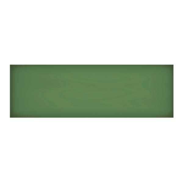 """Ceratec Iris Floor Subway Tile - 8"""" x 24"""" - Ceramic - Emerald - 12 pcs"""