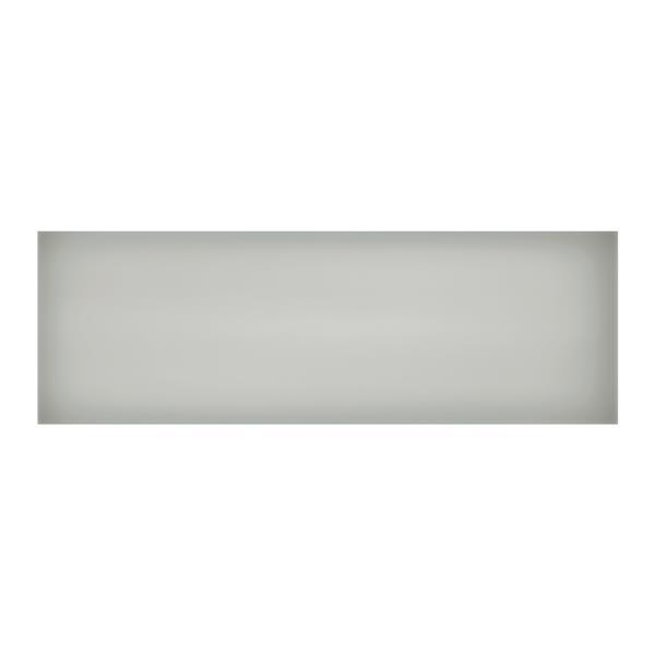 """Ceratec Iris Slide Floor Subway Tile - 24"""" - Ceramic - Gray - 10 pcs"""
