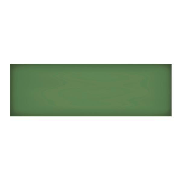 """Ceratec Iris Slide Floor Subway Tile - 24"""" - Ceramic - Emerald - 10 pcs"""