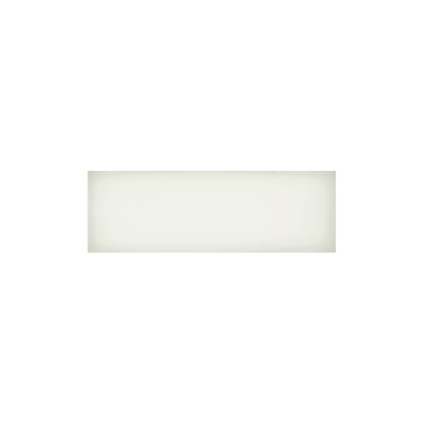 """Ceratec Iris Slide Floor Subway Tile - 4"""" x 12"""" - Ceramic - White - 34 pcs"""