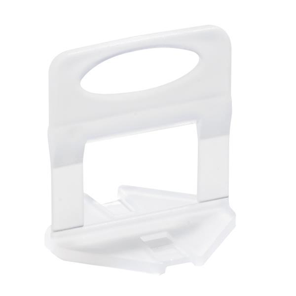 JL Tile Tile leveling system clips - White - 100 Pieces
