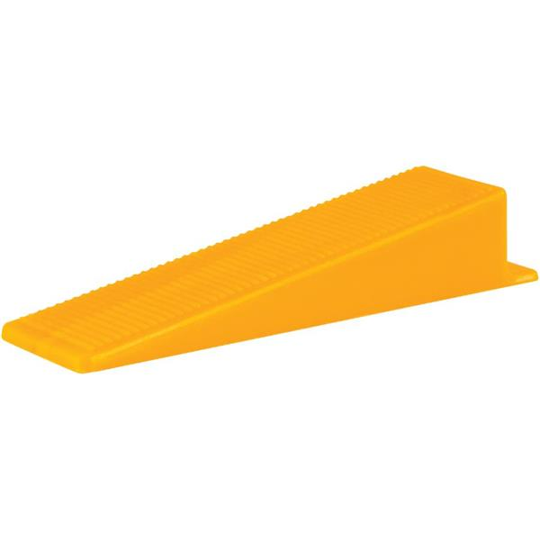 JL Tile Tile leveling system Wedges - Orange - 100 Pieces