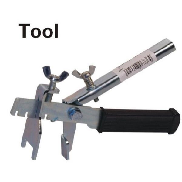Outil pour agrafes et cales de nivelage J&L Tile