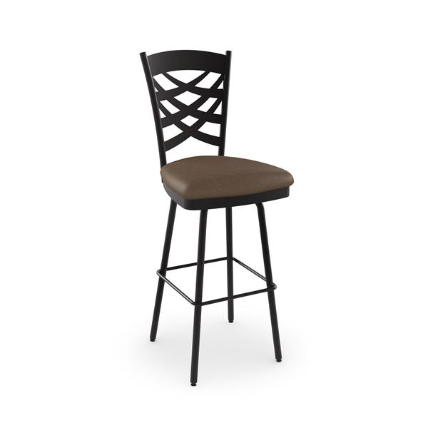 Amisco Nest Swivel Stool - Brown
