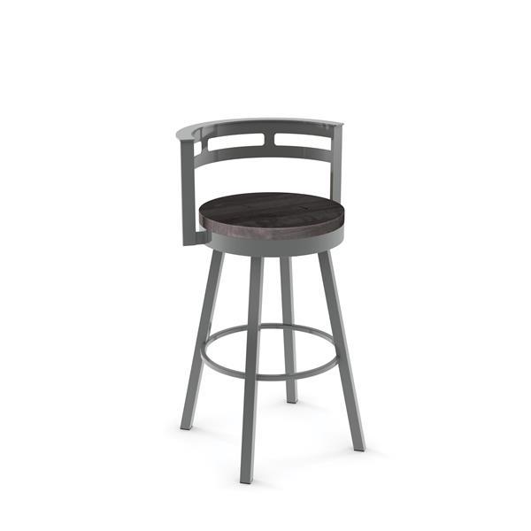 Amisco Vector Swivel Stool - Grey