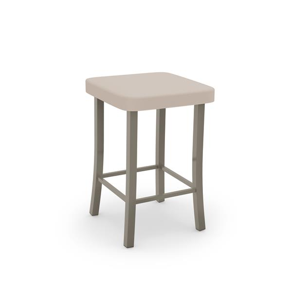 Amisco Ryan Non Swivel Stool - Grey